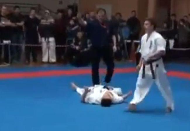 Karate kid street fighter Move Leaves Oppenet stunned