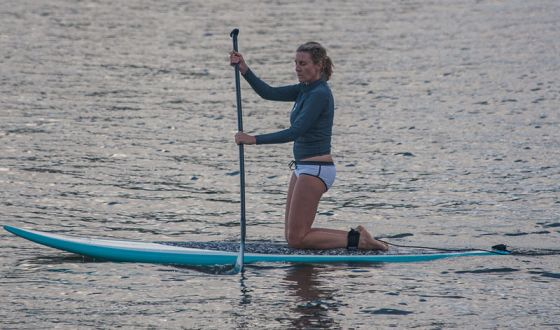 Pierce Brosnan Paddle Board Obsession Helps Keep Him In Shape