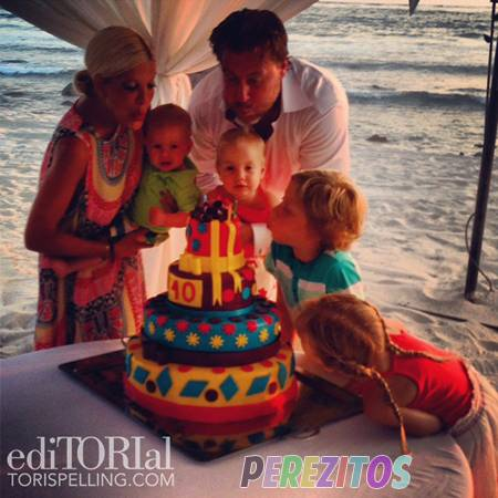 Tori Spelling 40th birthday Bash In Mexico