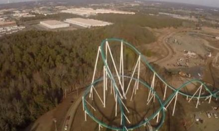 Carowinds roller coaster:  Fury 325 Is Big And Scary (VIDEO)