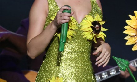 Katy Perry Sunfllower Dress Stirs Controversy In China