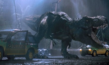 "Original T. Rex Jurassic World: ""She's a little older, and she's angry,"""