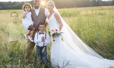 anna bozman thompson wedding photos Honors Late Son (PHOTO)