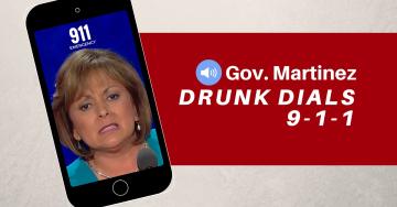 Susana Martinez hotel party 911 Call