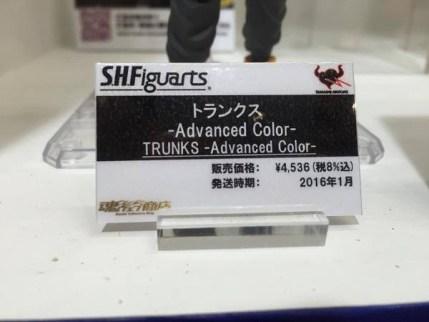 SH Figuarts advance color Trunks