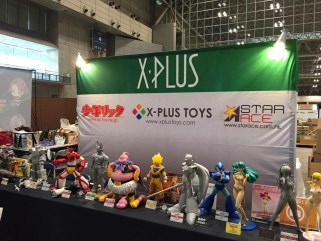 X-Plus Booth at Wonder Fest 2015