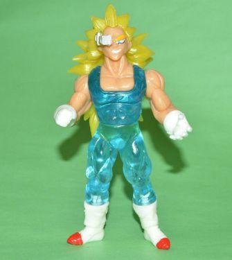 SS3 Goku trying to be like John Cena? I have no idea.