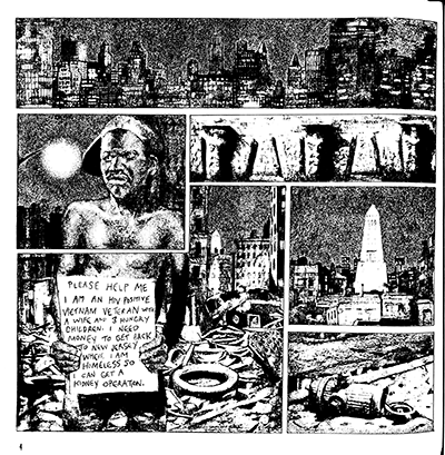 First page of WELCOME TO THE ZONE as originally published, 1995.