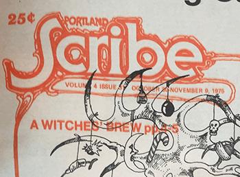 Portland Scribe logo