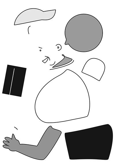 Adobe Illustrator character components