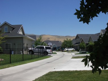 Harris Ranch - Alley