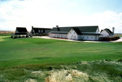 Murphy Creek Clubhouse Pro Shop, Maintenance Facilities, and Prairie Farmhouse Compound
