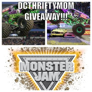 Monster Jam - DC Thrifty Mom Giveaway