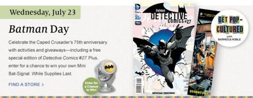 Batman Day - Barnes and Noble
