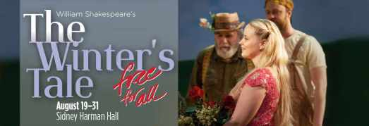 Shakespeare Theatre Company - The Winter's Tale FREE for All Banner