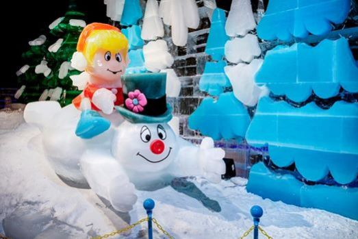 ICE! Frosty the Snowman