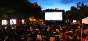 Outdoor Movie Series @ Bethesda's Woodmont Triangle | Bethesda | Maryland | United States