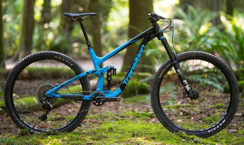 2018 Transition Sentinel Alloy SBG Blue Black Full bike