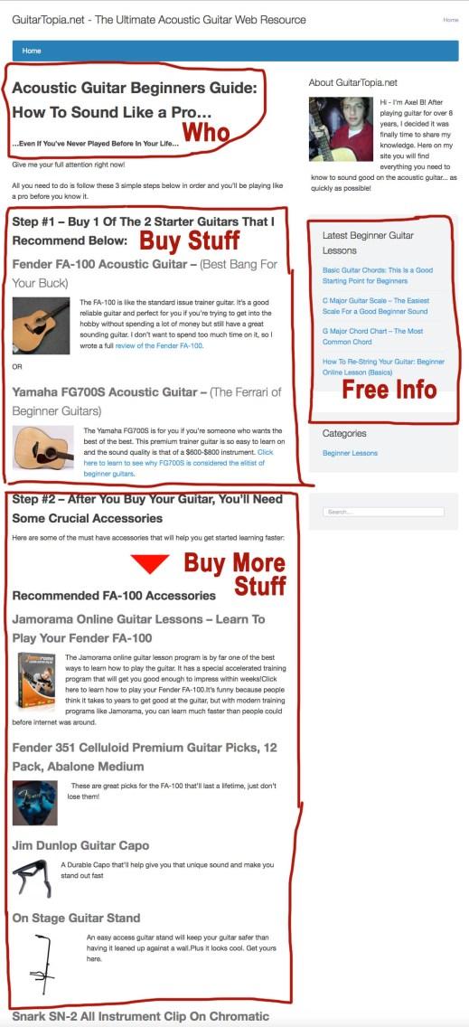 affiliate site example