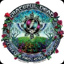 Grateful Dead - Steal Your Face 40th Anniversary Commerative Sticker / Decal