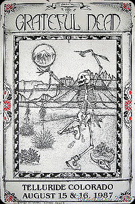 Fan Art? Rare poster from Grateful Dead Telluride 1987