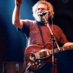 "Jerry Garcia, March 24, 1987, Hampton, VA, ""Not Fade Away"" © Robbi Cohn Dead Images"