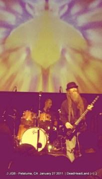 Pete Lavizzoli & Jimmy Tebeau JGB Band - McNear's Mystic Theatre Petaluma CA Jan. 27, 2012