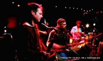 Kenny Brooks Dave Ellis Jay Lane - Ratdog Reunion TRI 1.25.2012