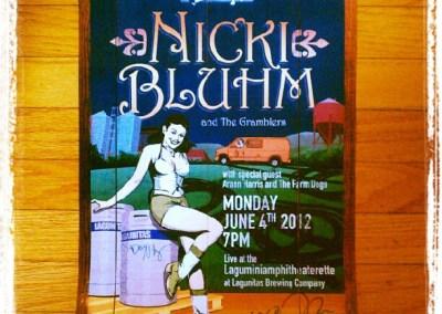Nicki Bluhm Lagunitas Poster