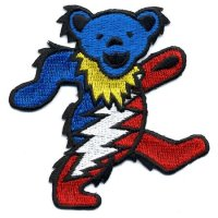 Grateful Dead patches - Steal Your Face, Dancing Bears Terrapins and Skeletons