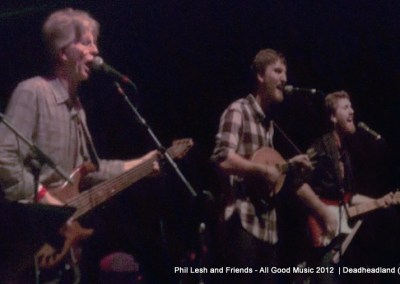 Phil, Brian and Grahame Lesh - Phil Lesh and Friends - All Good Music Festival 2012  (3)