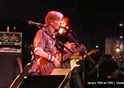 Phil Lesh, Brian Lesh - Jerry Garcia's 70th Birthday at TXR  Deadheadland (~);} (18)