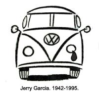 News of Jerry Garcia's death – August 9, 1995, 4:23 am
