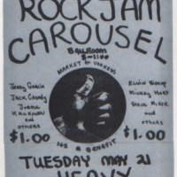 HEAVY SHOW: Jerry Garcia, Jorma Kaukonen, Jack Casady & Friends - May 21, 1968 - Carousel Ballroom - S.F., Ca.