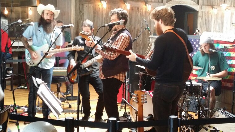 SETLIST :The Terrapin Family Band with Scott Law,  brunch Sunday February 16th 2014