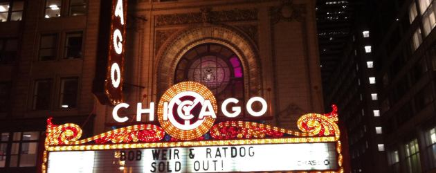 SETLIST: Ratdog - Scaring The Children | Chicago Theatre, Chicago , IL | Friday March 7,2014