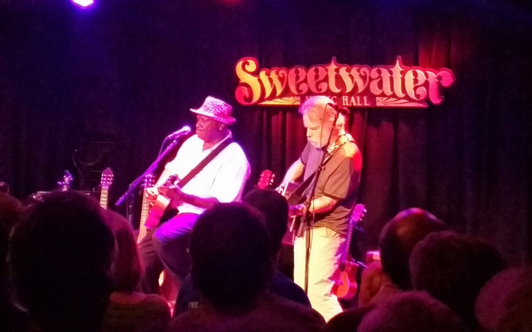Weir Everywhere Dept: Bob Weir Sits In with Taj Mahal @ the Sweetwater Music Hall, Mill Valley CA