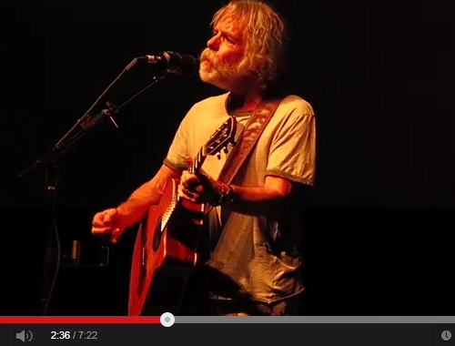 VIDEO: Bob Weir solo acoustic – Loose Lucy – Kabuki Theatre, San Francisco CA. Friday May 2, 2014