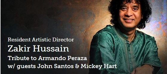 Grateful Dead's Mickey Hart to perform with Zakir Hussain @SFJAZZ Center in San Francisco on Sunday, October 12