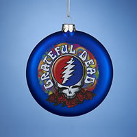 DHL's GRATEFUL GIFT GUIDE 2014:  Grateful Dead Christmas Tree Ornaments