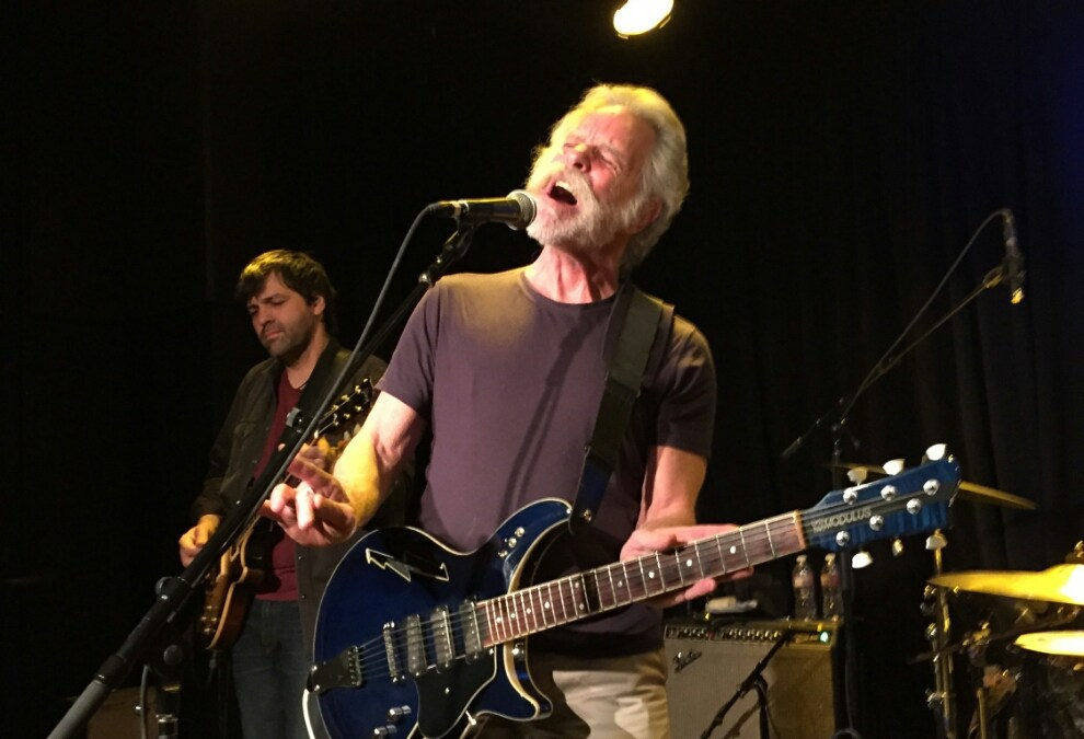 VIDEO: Jackie Greene w Bob Weir Sugaree Sweetwater Mill Valley CA 4.15.2015