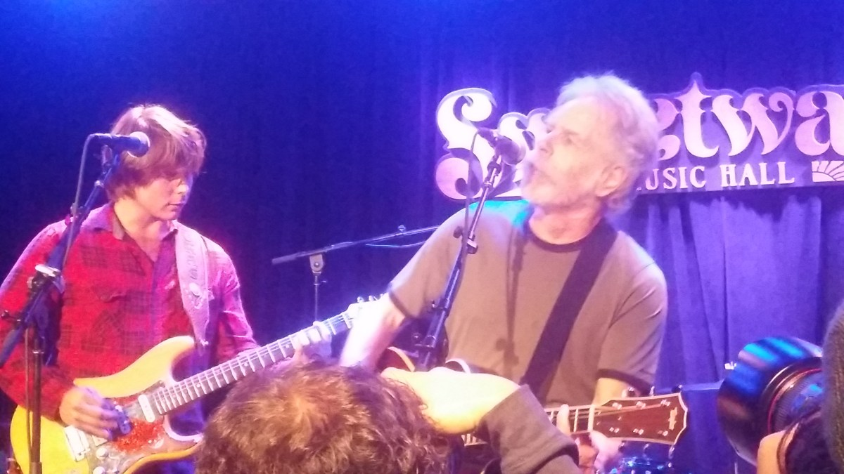 VIDEOS: Bob Weir joins Lukas Nelson at Music Heals International Benefit at Sweetwater 5.26.2015