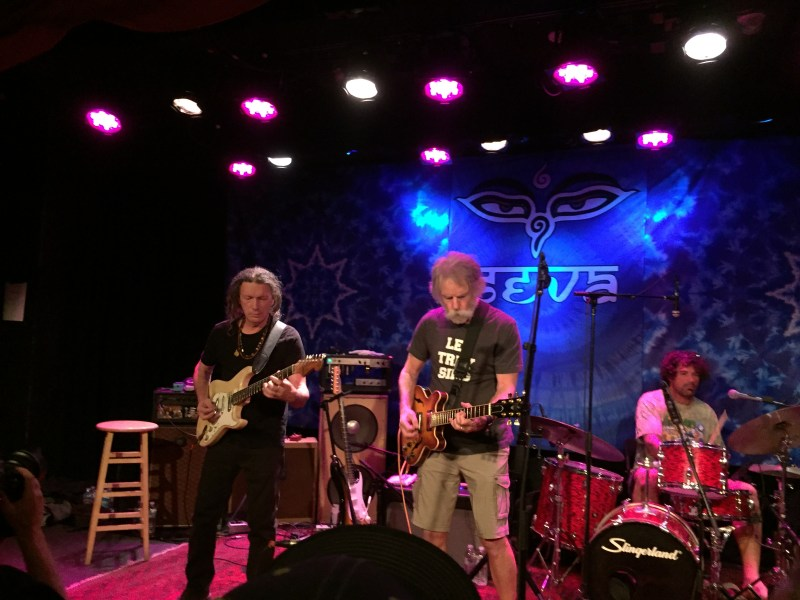 Kimock, Weir, Lane - Sweetwater - Sing out for Seva - photo by Peter White