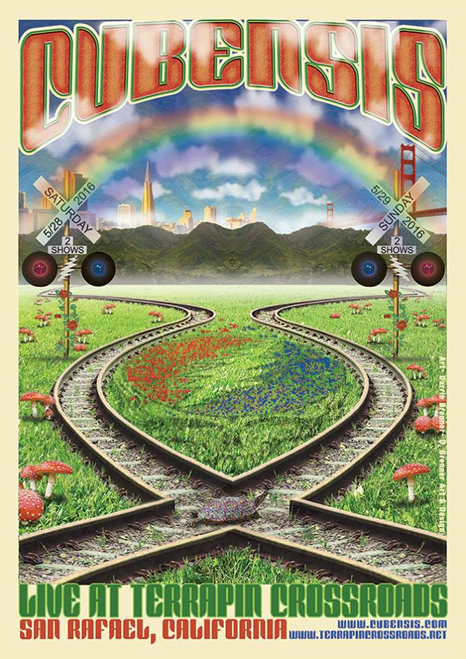 Cubensis - Southern California's Premiere  Grateful Dead Tribute Band CUBENSIS Playing two free shows at Terrrapin Crossroads Saturday May 28th and Sunday May 29th 2016!