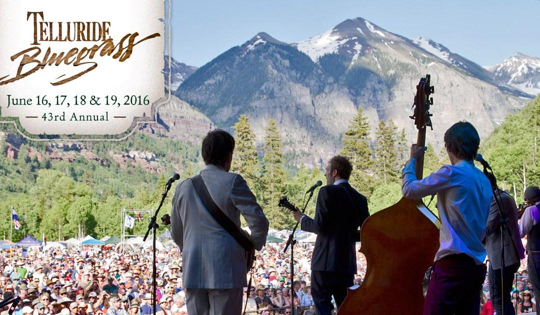 TARP RUN!!!! FESTIIIIIIVVVVAAAALLLLL!!!!  43rd Telluride Bluegrass Festival begins today! Streaming on KOTO.ORG