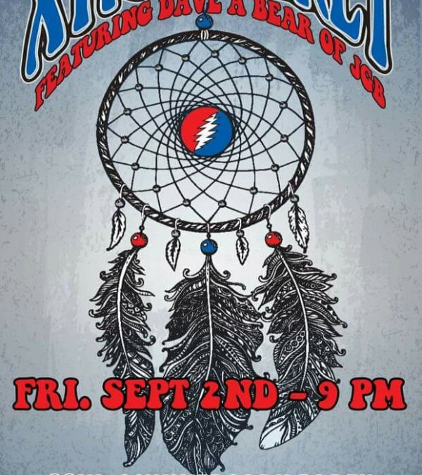 Congratulations to XTRA TICKET Celebrating 22 years of Grateful Music in Arizona! Featuring Dave A Bear of JGB