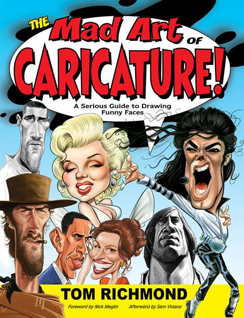 Mad Art of Caricature Cover med