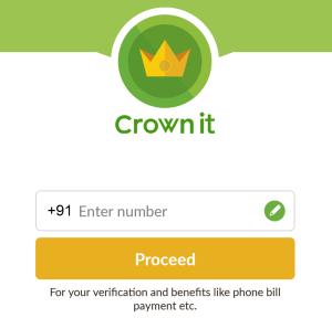 crownit registration for 100% cashback