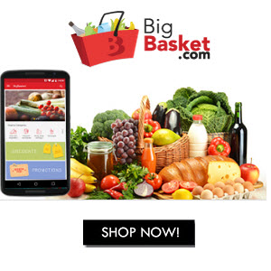 Bigbasket- Get Flat 20% Cashback On Your First Order Of Rs 1000 Or More