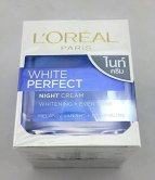 Amazon- Buy L'Oreal White Perfect Fairness Revealing Soothing Night Cream